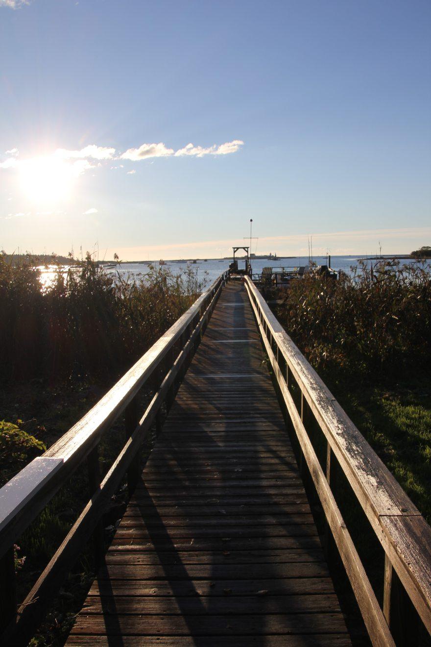 Langsford dock